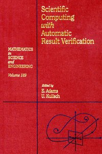 Scientific computing with automatic result verification