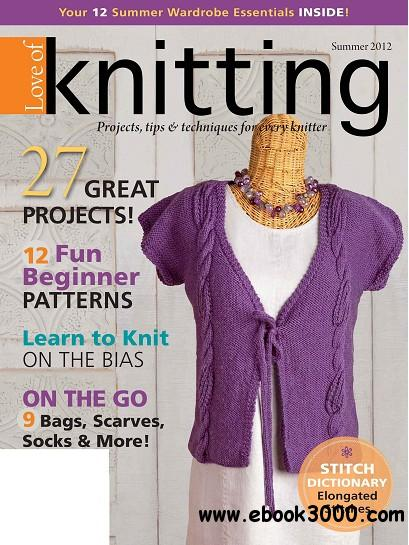 Love of Knitting - Summer 2012
