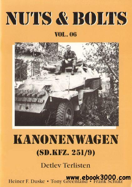 Kanonenwagen Sd.Kfz.251/9 (Nuts & Bolts Vol.6)