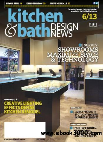 Kitchen Bath Design News June 2013 Free Download Links