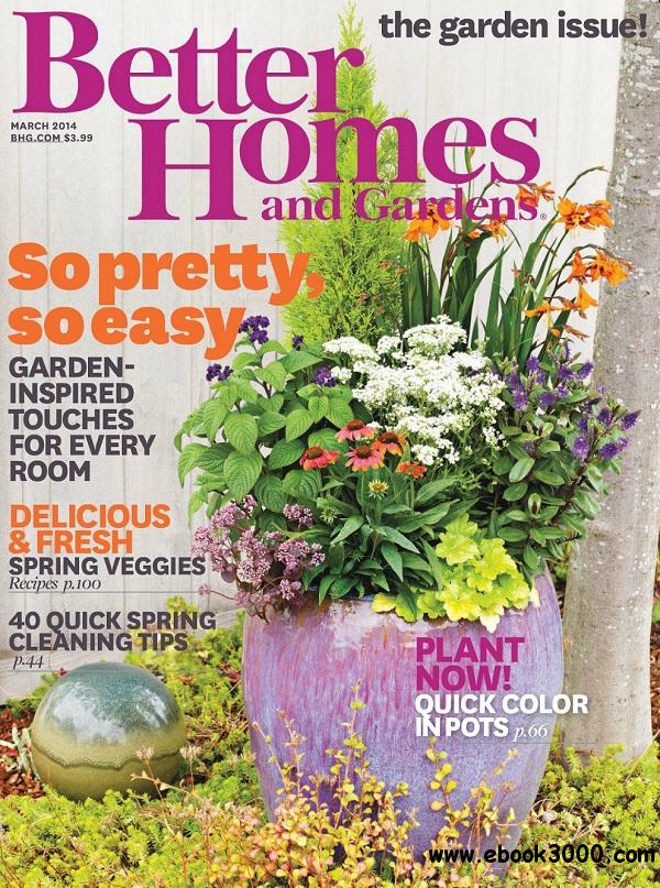 Better homes and gardens march 2014 usa free download Better homes and gardens download