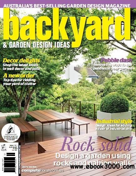 Backyard & Garden Design Ideas Magazine Issue 12.1