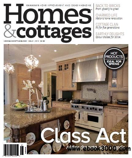 Homes cottages magazine issue 1 2014 free ebooks download for Home and cottage magazine