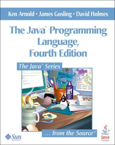The Java Programming Language, 4th Edition