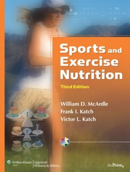 Sports and Exercise Nutrition, 3rd edition