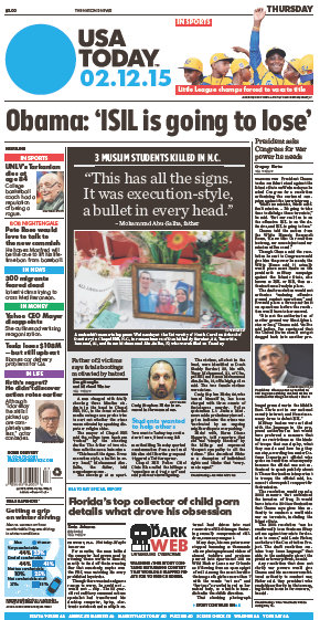 USA Today 12 February 2015