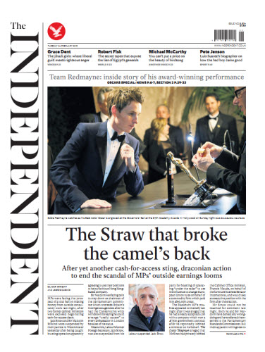 The Independent February 24 2015