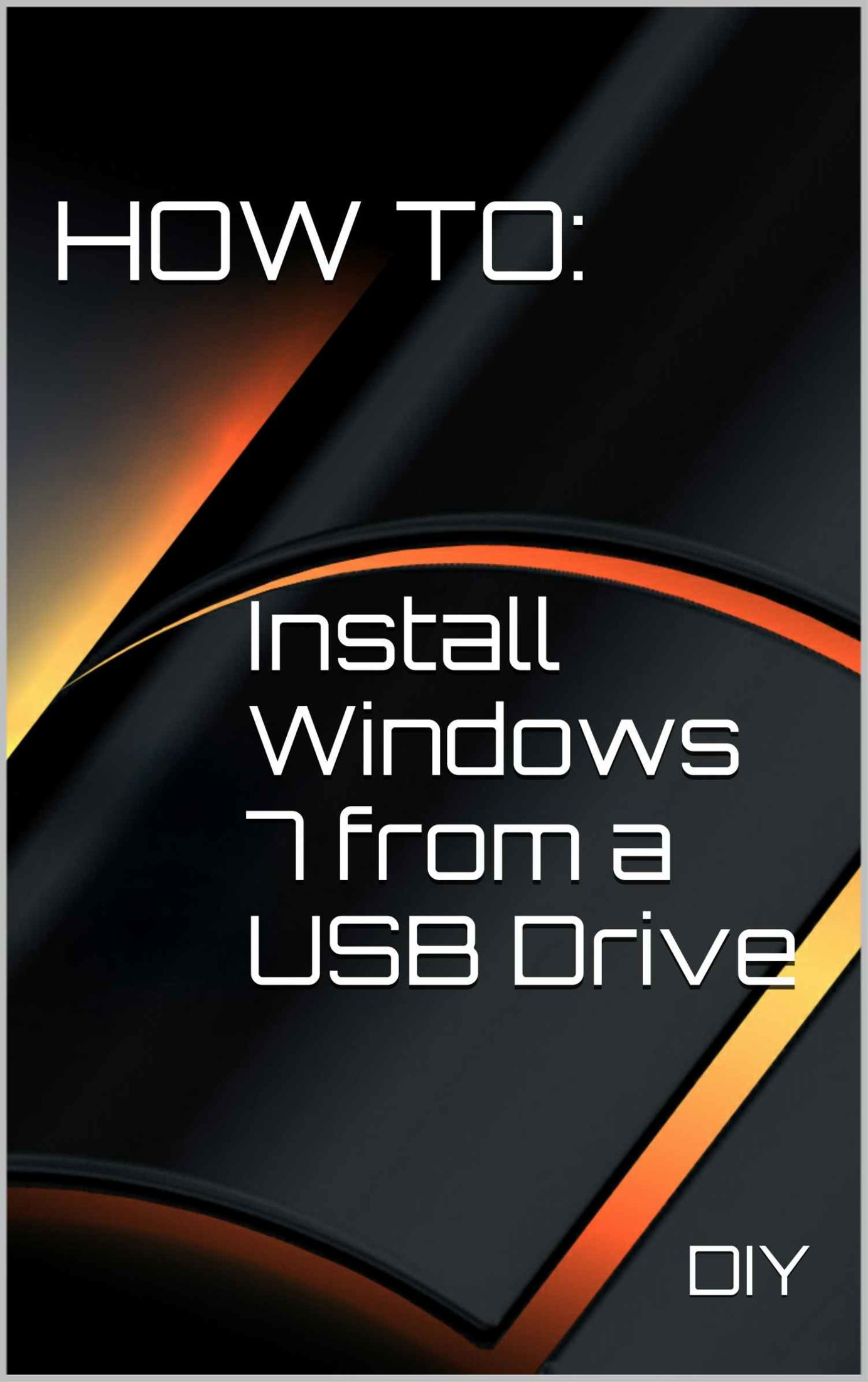 how to install widows 7 from hard drive free