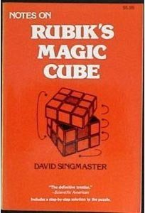 Notes on Rubik's 'Magic Cube'