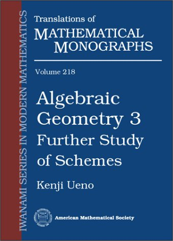 Algebraic Geometry 3: Further Study of Schemes