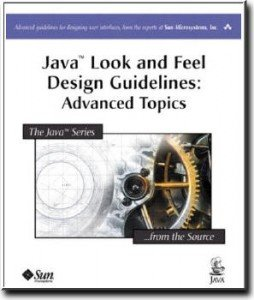 Java Look and Feel Design Guidelines: Advanced Topics