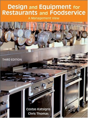 Design and equipment for restaurants foodservice a
