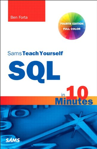 sams teach yourself sql in 10 minutes pdf download