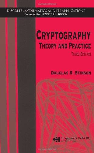 Cryptography: Theory and Practice, Third Edition