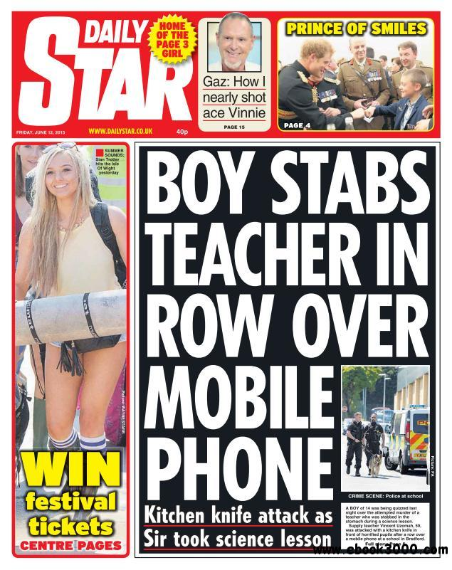 Daily Star - 12 June 2015