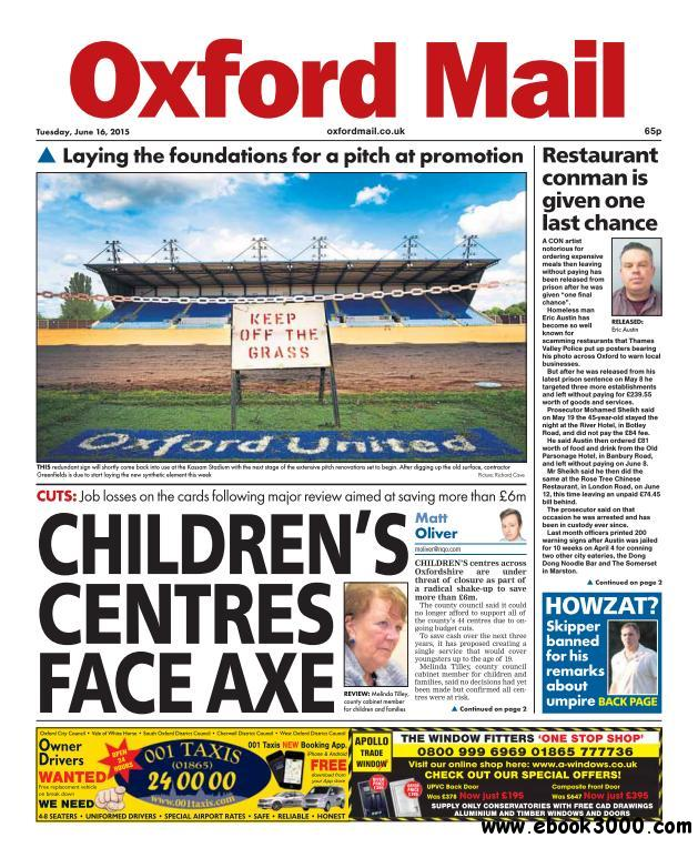 Oxford Mail - 16 June 2015