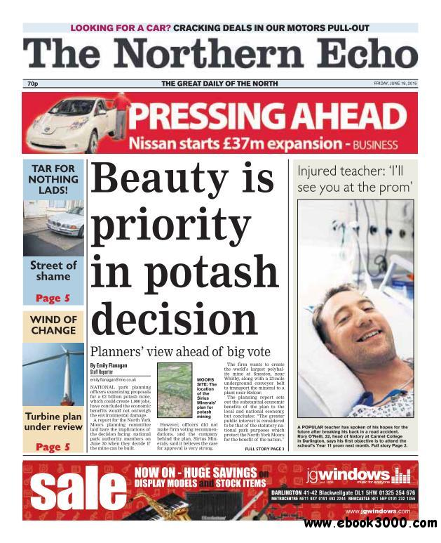 The Northern Echo - 19 June 2015