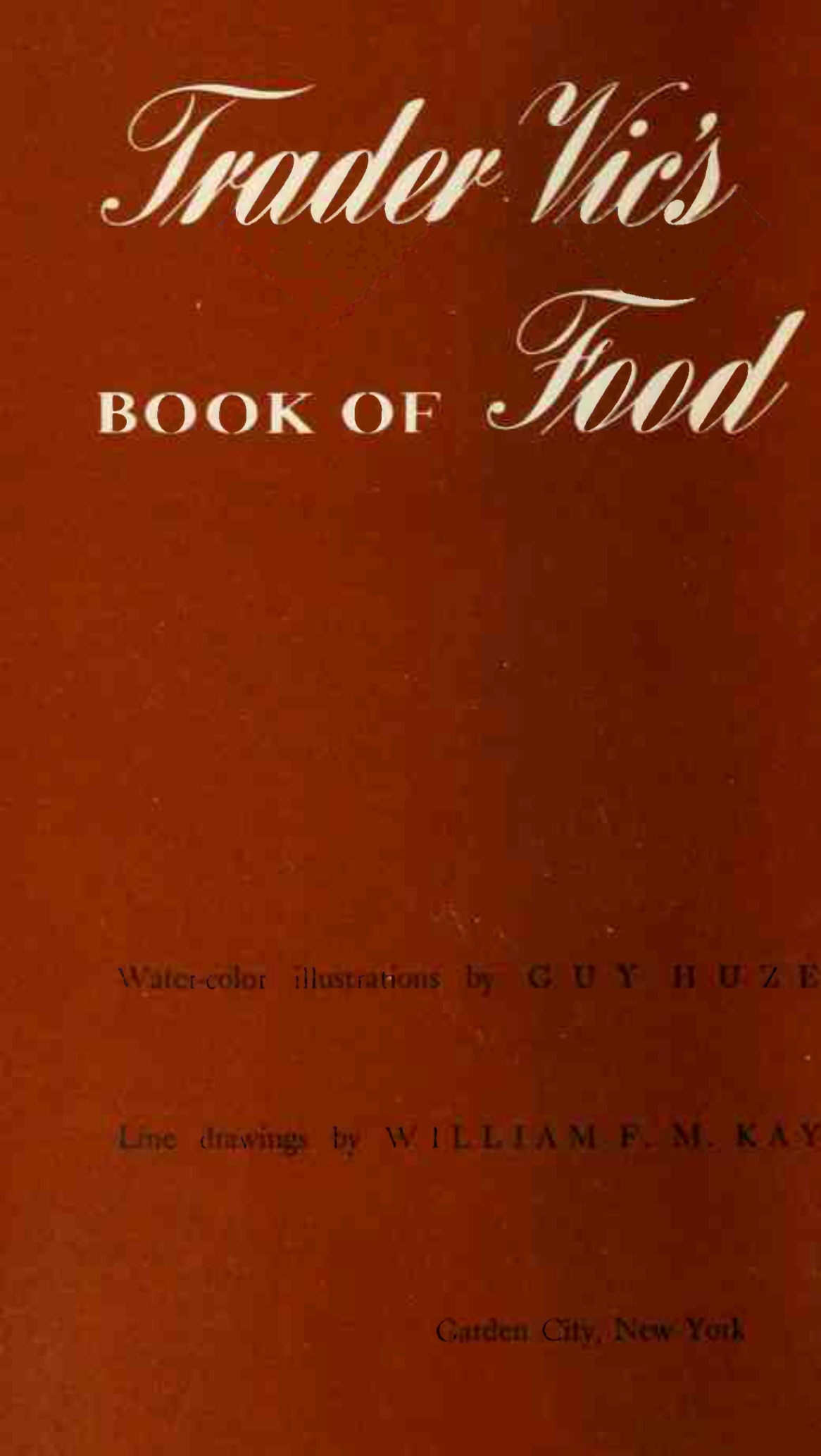 Trader Vic S Book Of Food And Drink Pdf