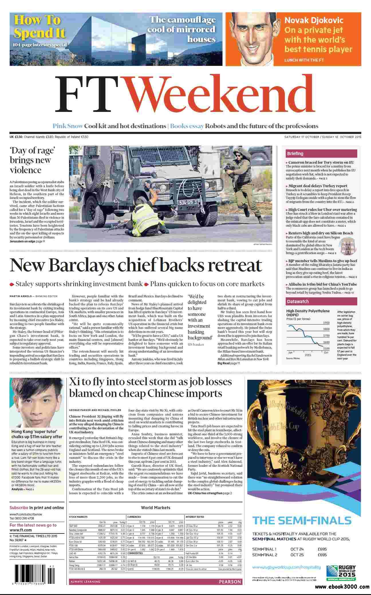 Financial Times UK  October 17 18  2015
