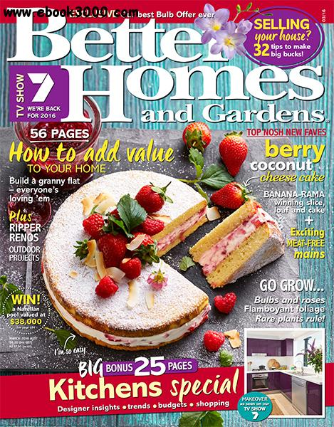 Better Homes And Gardens Australia March 2016 Free