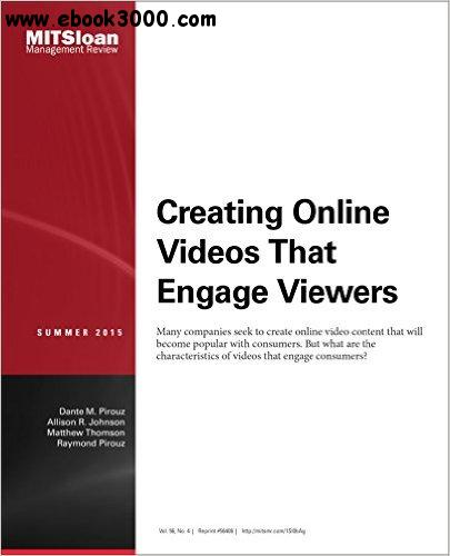 Creating Online Videos That Engage Viewers - Journal Articles