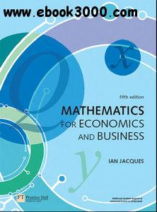 Mathematics for Economics and Business, 5th Edition