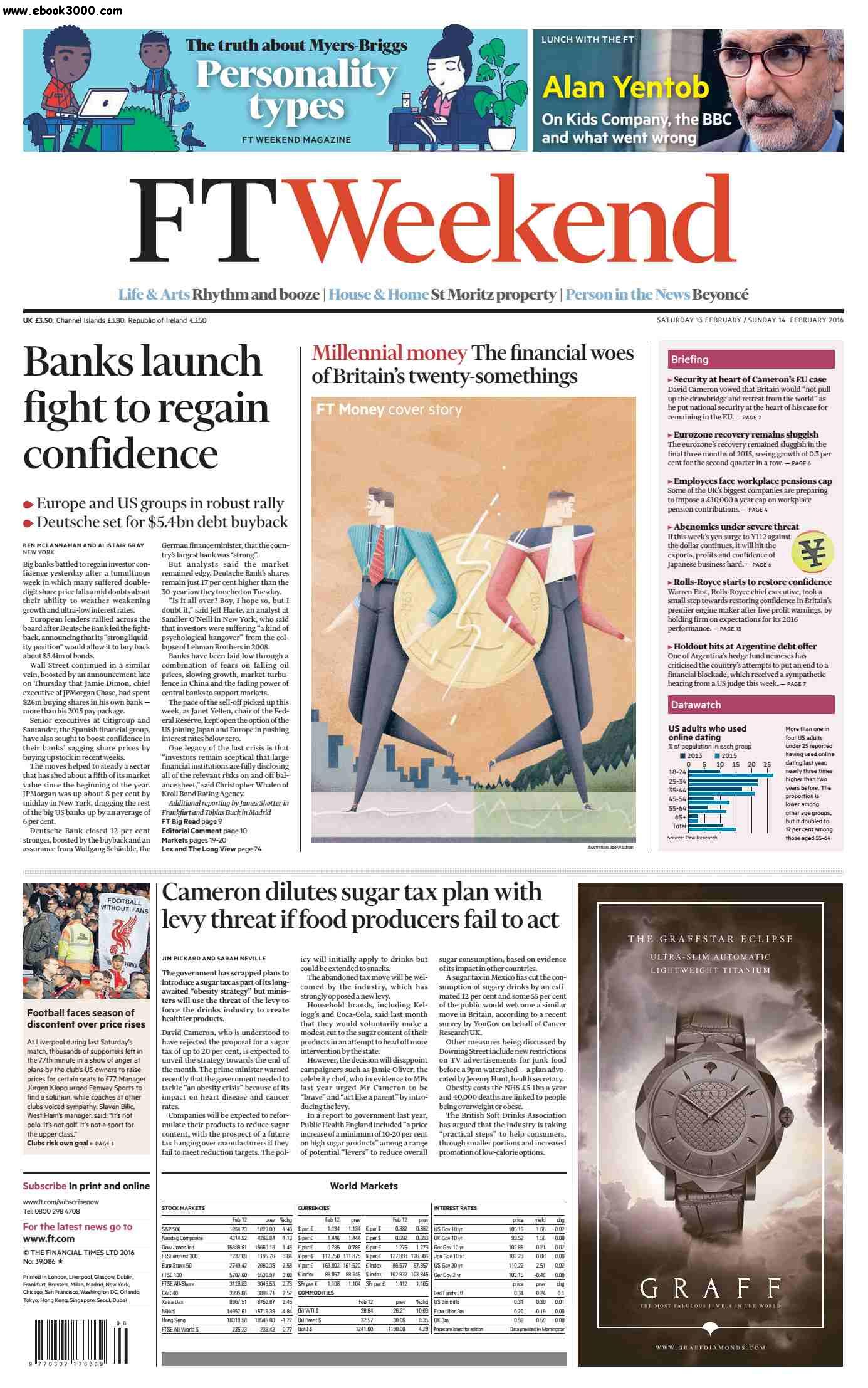 Financial Times UK  February 13 14  2016
