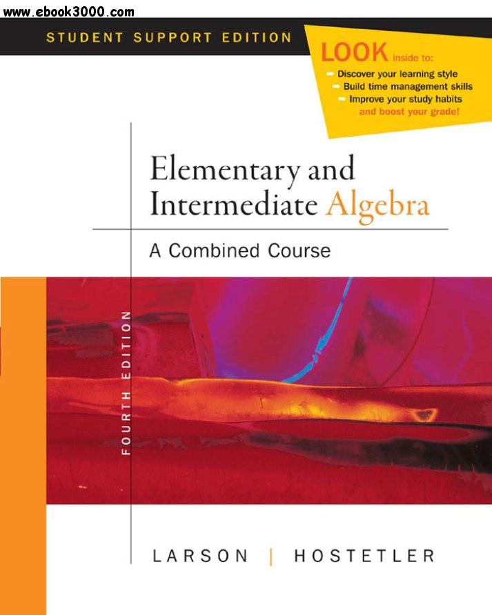 College Algebra with Intermediate Algebra: A Blended Course