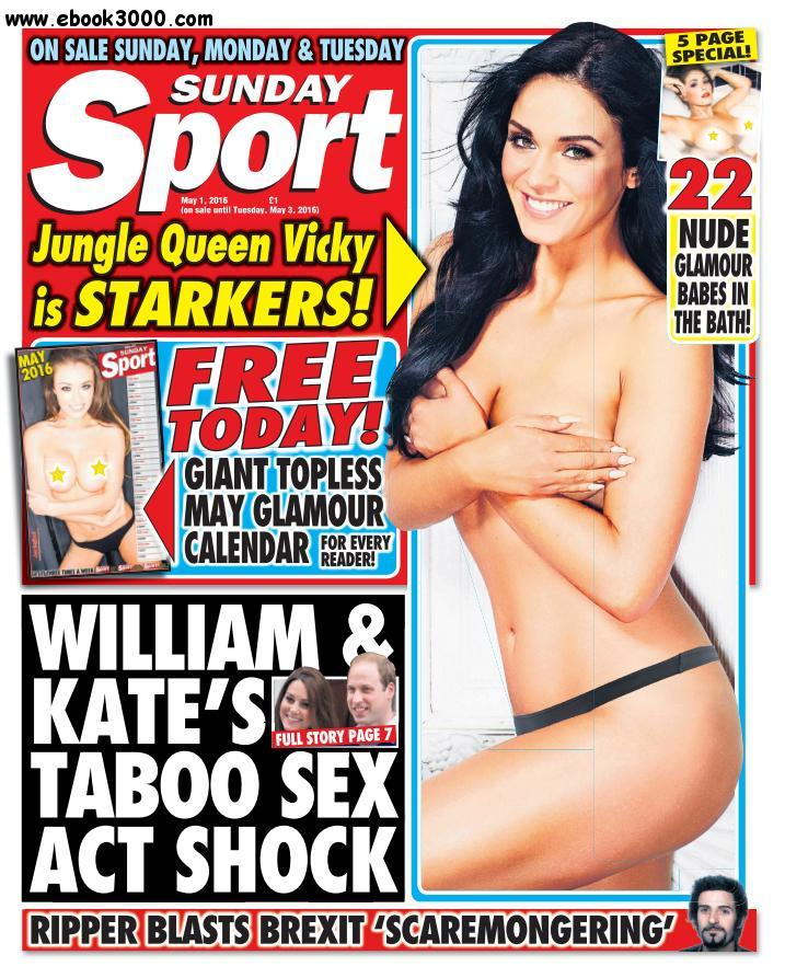 Sunday Sport - 1 May 2016