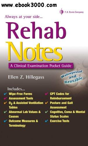 Rehab Notes A Clinical Examination Pocket Guide