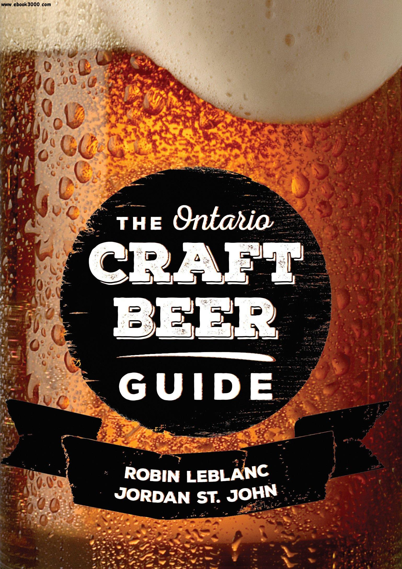 The ontario craft beer guide free ebooks download for Guide to craft beer