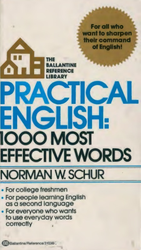 Practical English: 1,000 Most Effective Words