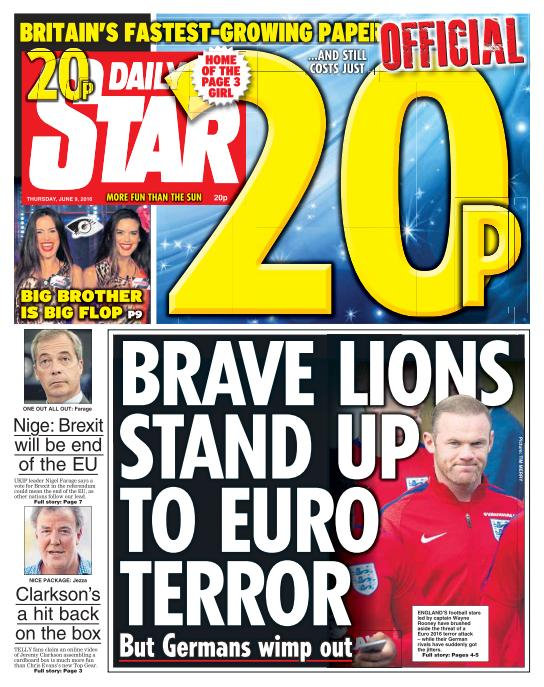 Daily Star - 9 June 2016