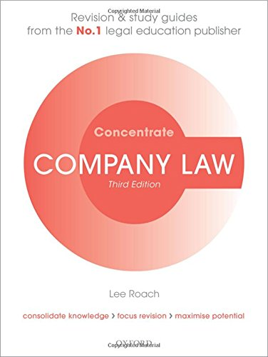 company law cases study Nzcclr presents a selection of important cases in the area of company,  commercial and arbitration law the online publication contains headnotes and  full text.