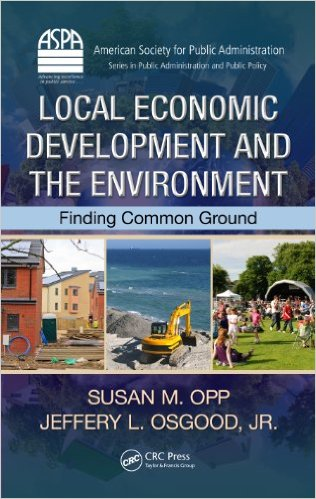 Local Economic Development and the Environment: Finding Common Ground