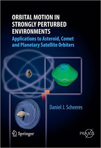 Orbital Motion in Strongly Perturbed Environments: Applications to Asteroid, Comet and Planetary Satellite Orbiters