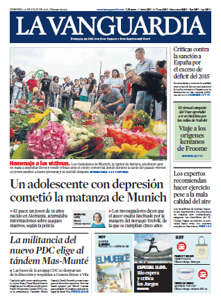 La Vanguardia - 24 Julio 2016