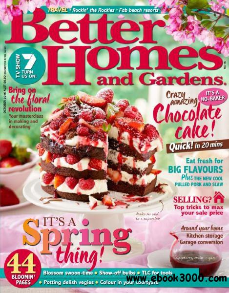 Better Homes And Gardens Australia October 2016 Free