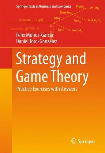 Strategy and Game Theory: Practice Exercises with Answers