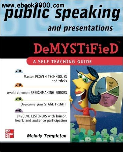 Melody Templeton - Public Speaking and Presentations Demystified