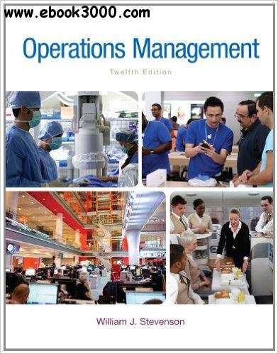 Operations Management, 12th edition
