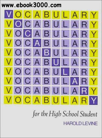 Harold Levine, Vocabulary for the High School Student