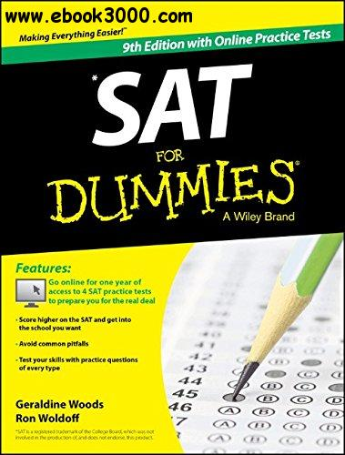 SAT For Dummies, 9th Edition