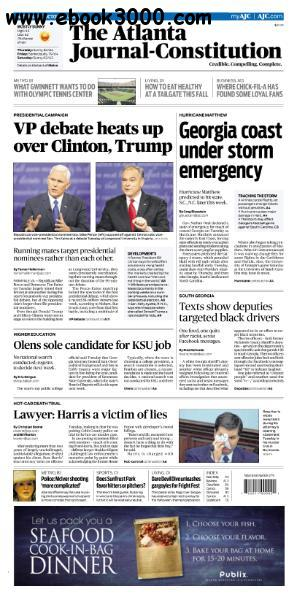 The Atlanta Journal-Constitution - October 5, 2016