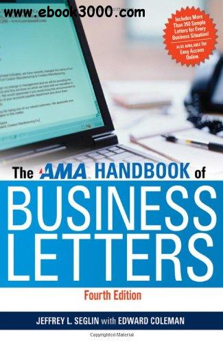 The AMA Handbook of Business Letters