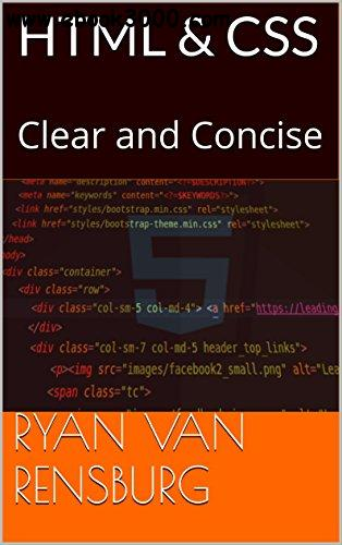 HTML&CSS: Clear and Concise