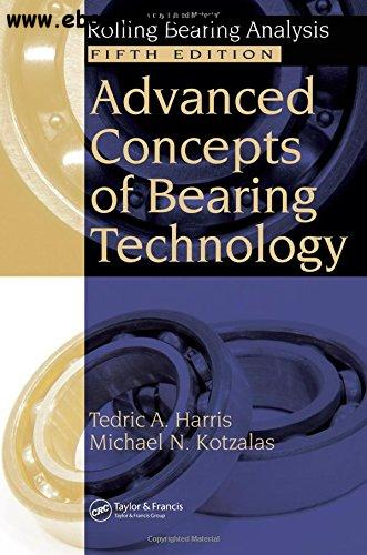 Advanced Concepts of Bearing Technology