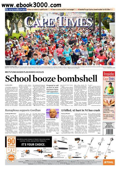 Cape Times - October 17, 2016