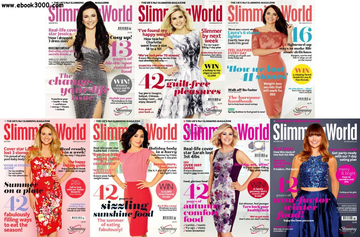 Slimming World 2016 Full Year Issues Collection Free