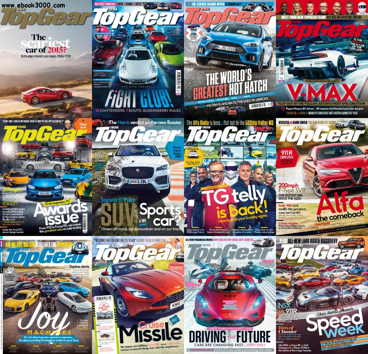 bbc top gear uk 2016 full year issues collection free ebooks download. Black Bedroom Furniture Sets. Home Design Ideas